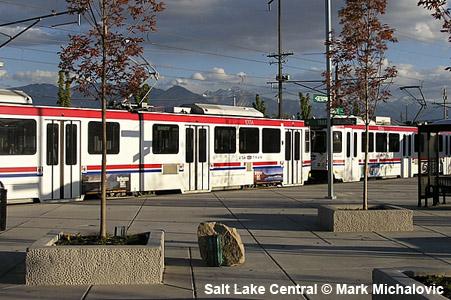 Urbanrail Net Gt Usa Gt Salt Lake City Light Rail Trax